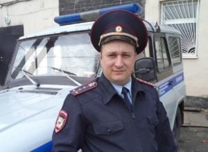 В Новошахтинске участковый спас мать с маленькими детьми из горящего дома