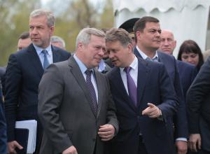 Первый камень в строительство Багаевского гидроузла с помпой заложили в Ростовской области