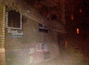 Балкон многоэтажки сдуло ураганным ветром в Ростове