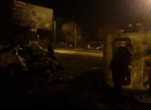 В Таганроге мужчина, угнав маршрутку Hyundai County, спровоцировал смертельное ДТП