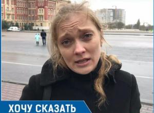 Уже слезно просим, чтобы возле школы сделали пешеходный переход! - Диана Михайлова