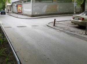 «Лежачие полицейские» растворились под колесами автомобилей в Ростове
