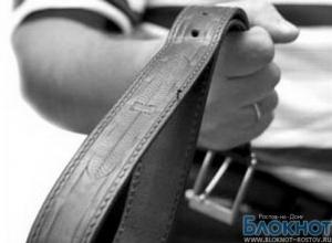 В Ростовской области мать истязала 8-летнюю дочку, избивая ее железными прутами