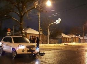 Два белоснежных Hyundai в Ростове не поделили свое превосходство на дороге