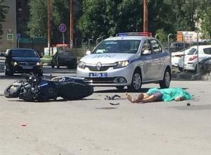 В Ростове-на-Дону иномарка сбила насмерть мотоциклиста