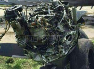 В Ростове в военном самолете взорвался двигатель: судно сгорело