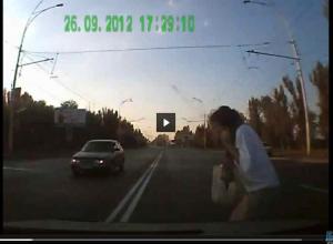 ДТП с пенсионеркой в Ростовской области сняли на ВИДЕО