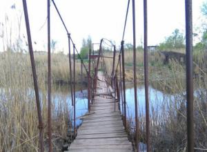 Несуществующий капремонт убогого и опасного моста через Темерник высмеяли ростовчане
