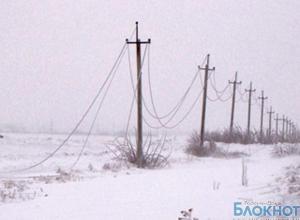 17 тысяч человек в Ростовской области остались без света из-за непогоды