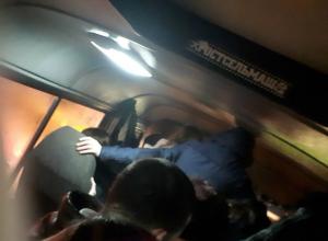 Душиться за место в маршрутке ежедневно приходится жителям микрорайона Суворовский в Ростове