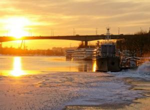 Первый ноябрьский морозец окутает черным льдом дороги Ростова в субботний выходной
