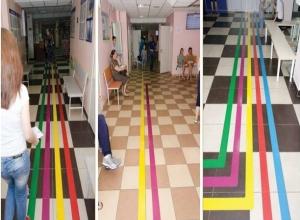 В ростовской детской поликлинике установили оборудование, как в «Сбербанке»
