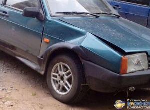 В Ростове на Красноармейской столкнулись 4 автомобиля