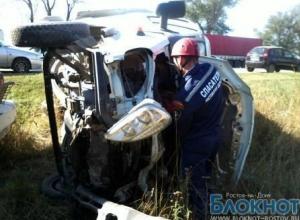 В Азовском районе водитель «Газели» совершил ДТП, пострадали три человека