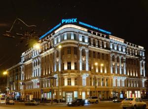 Ночной подсветкой решили украсить обновленные здания Ростова