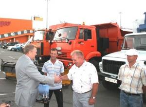 Ростов передал в дар Крыму коммунальную технику