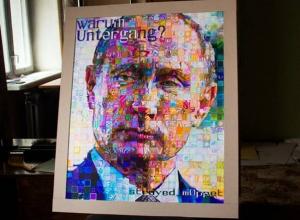 Художник из Новочеркасска создал портрет Владимира Путина