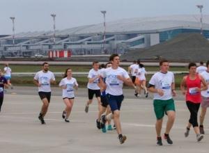 Забег по взлетно-посадочной полосе PlatovRunway в Ростове стал самым лучшим PR-проектом