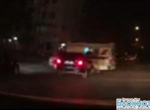 В центре Ростова иномарка врезалась в «скорую», ехавшую на вызов
