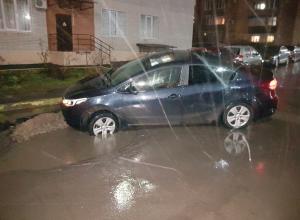 Ловушка для автомобилей нашла свою жертву в Ростове