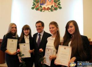 Мэр города Михаил Чернышев встретился с ростовской молодежью
