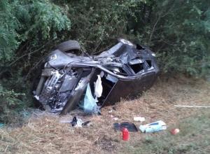 В аварии на трассе М-4 «Дон» с участием 4 машин пострадали 7 человек