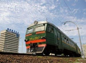 В Ростовской области снова отменят электрички Ростов - Азов