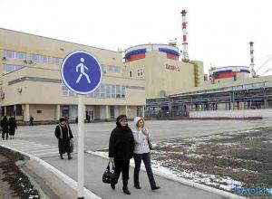 Один из энергоблоков Ростовской АЭС остановлен