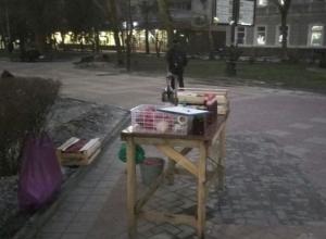 Гранатовый сок из грязной и вонючей соковыжималки предлагали отведать на улице жителям Ростова