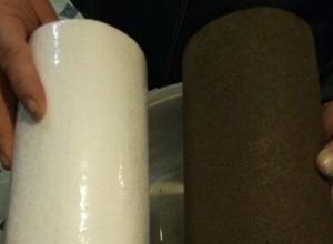 «Почерневший от стыда» фильтр отбил у ростовчан желание платить за водоснабжение