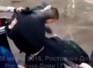 В Ростове конфликт со стрельбой между школьниками попал на видео