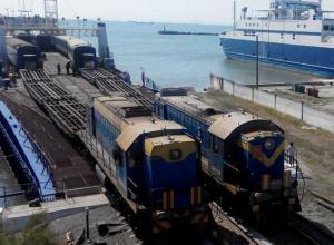 Первый поезд в Крым в обход Украины проследовал через Ростов