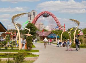 Парк с аттракционами предложил создать житель Ростова за ТРЦ «Рио»