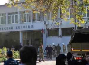 Ростовские врачи, психологи и спасатели вылетели на вертолетах на место теракта в Керчи