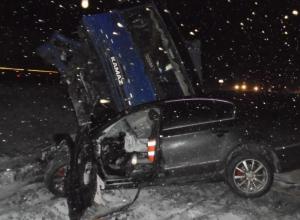Водитель из Ростовской области погиб в жутком ДТП на трассе под Воронежем
