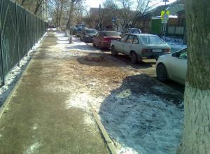Опасный для школьников завал ликвидировали после публикации «Блокнота» в Ростове