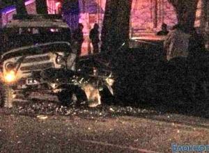 В Таганроге автомобиль c полицейскими попал в ДТП