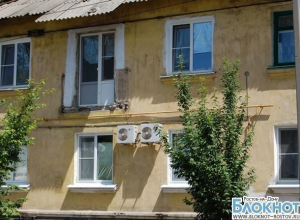 В Гуково управляющая компания оставила пенсионерку без балкона