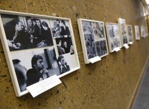 В Ростове открылась выставка ранее не опубликованных фотографий Высоцкого. Фоторепортаж
