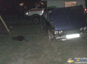 В Ростовской области несовершеннолетний на ВАЗе врезался в опору газопровода: 4  пострадали