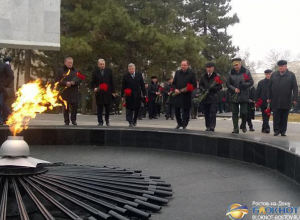 В Ростове отметили 73-ю годовщину первого освобождения города от фашистов