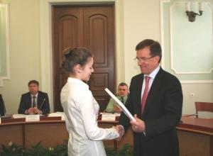Мэр Ростова наградил победителей молодежного конкурса на лучший проект в сфере профилактики наркомании