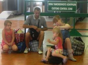 Донские таможенники приняли 228 украинских беженцев, среди которых дети и инвалиды-колясочники