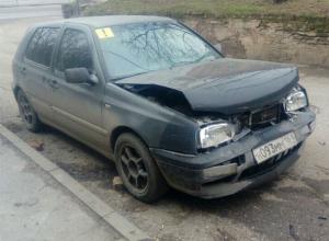 Погоню за сбежавшей с места аварии иномаркой снял на видео автомобилист в Ростове