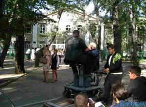 Виктор Мережко превратил Таганрог в съемочную площадку