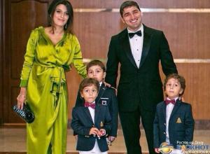 Олимпийский чемпион по греко-римской борьбе Вартерес Самургашев стал отцом в четвертый раз