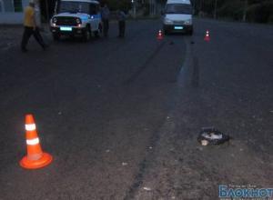 В Ростовской области полицейский сбил пьяного пешехода