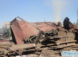 Фоторепортаж из эпицентра взрыва на железнодорожной станции в Белой Калитве