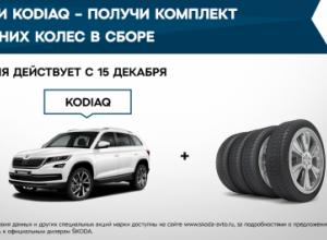 Воспользуйтесь специальными предложениями при покупке KODIAQ от Л-Моторс
