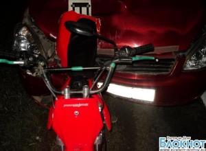 В ДТП в ростовской области погиб водитель скутера
